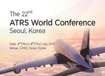The 22nd ATRS World Conference Seoul, Korea